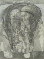 Roland Bugnon, Ohne Titel (Diptychon), 1994–2000, je 65 x 49 cm. (Bild: PD)
