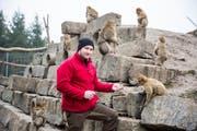 Christoph Wüst vom Plättli Zoo Frauenfeld. (Bild: Mareycke Frehner)
