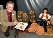 Roland Stump präsentiert einen Vorspeiseteller. (Bild: PD)