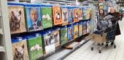Putin überall: Wer in Russland seine Stimme gegen ihn erhebt, lebt gefährlich. (Bild: Getty)