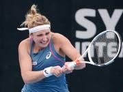 Für Timea Bacsinszky endete das WTA-Turnier in Sydney in den Viertelfinals (Bild: KEYSTONE/AP/RICK RYCROFT)