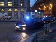 Die Angeklagten im Prozess um den Angriff auf das Jüdische Museum in Belgien im Mai 2014 werden am Donnerstag zum Brüsseler Schwurgericht gefahren. (Bild: KEYSTONE/AP/FRANCISCO SECO)