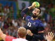 Nikola Karabatic ist der grosse Abwesende an der Handball-WM in Deutschland und Dänemark (Bild: KEYSTONE/EPA/SRDJAN SUKI)