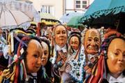So präsentiert sich die schwäbisch-alemannische «Fastnacht» in Baden-Württemberg. (Bild: Alamy)