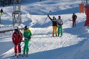 Auf der Ibergeregg im Kanton Schwyz konnte bereits im Dezember Ski gefahren werden. (Bild: Boris Bürgisser, 18. Dezember 2018)