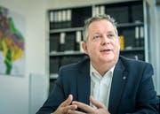 Stadtpräsident Thomas Niederberger will beim Metropolitanraum Zürich mitmachen. (Bild: Reto Martin)