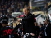 Für Luganos Coach Greg Ireland wird es nach einer weiteren Niederlage von Lugano eng (Bild: KEYSTONE/TI-PRESS/SAMUEL GOLAY)