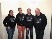 Michaela Bauer (SE Oberes Toggenburg), Silke Steiger (KG Unteres Neckertal), Mathias Ress-Nef (SE Neutoggenburg), Maik Becker (KG Oberer Necker), nicht anwesend: Micha Gehrig (KG Oberer Necker), Thomas Faes (KG Mittleres Toggenburg). (Bild: PD)