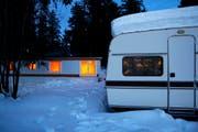 Auf einem Campingplatz wurden zwei Tote gefunden. (Symbolbild: Keystone)