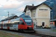 Ob es zwischen Buchs und Feldkirch zur geplanten S-Bahn-Verbindung kommen wird, ist ungewiss. (Bild: Günther Meier)