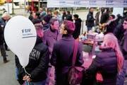 Die FDP will ihr Wählerpotenzial besser ausschöpfen. (Bild: Jean-Christophe Bott/Keystone (Freiburg, 15. März 2018))