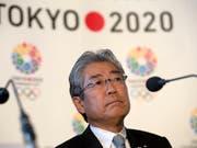 Soll in eine Bestechungs-Affäre verwickelt sein: Tsunekazu Takeda (Bild: KEYSTONE/AP/ALASTAIR GRANT)