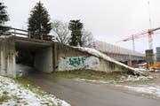 Die Unterführung Kirchstrasse wird von Mitte Januar bis Mitte März saniert und verbreitert. (Bild: Hans Suter)