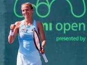 Viktorija Golubic steht zum vierten Mal in Folge am Australian Open in Melbourne im Hauptfeld (Bild: KEYSTONE/EPA/ERIK S. LESSER)