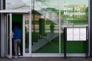 Das Amt für Migration Luezrn entschied, dass der deutsche Staatsbürger das Land aufgrund seiner Verschuldung verlassen soll. (Anthony Anex /Keystone (Luzern, 24. März 2015))