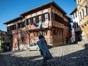 Die Altstadt von Plowdiw im Süden Bulgariens. (Bild: KEYSTONE/EPA/VASSIL DONEV)