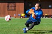 Mirko Salvi will die Luzerner Verantwortlichen in der Rückrunde mit starken Leistungen von sich überzeugen - und beim FCL bleiben. (Bild: Martin Meienberger/Freshfocus (Mijas/Marbella, 12. Januar 2019))