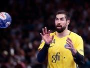 Könnte für die Franzosen an der WM zum wichtigen Puzzleteil werden: Handball-Star Nikola Karabatic (Bild: KEYSTONE/EPA/YOAN VALAT)