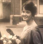 Margaretha Josefine Ruibing 1961 in Zutphen, Niederlande, mit 18 Jahren. (Bild: Privat)