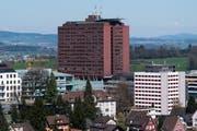 Der Standort Luzern des Kantonsspitals. Die Ärzte sind inzwischen in der ganzen Zentralschweiz tätig. (Bild: Eveline Beerkircher)