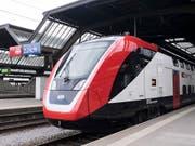 Funktioniert noch nicht wie gewünscht: der neue SBB-Doppelstockzug «FV-Dosto» für den Fernverkehr. (Bild: KEYSTONE/ENNIO LEANZA)