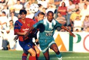 Phil Masinga spielte in den 90er-Jahren für den FCSG. (Bild