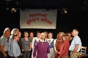Was im September 2017 seinen Anfang nahm, fand auf der Chössi-Bühne am Freitag seine Fortsetzung. (Bild: Ruben Schönenberger)