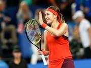 Starker Einstieg in die Saison: Belinda Bencic (Bild: KEYSTONE/AP/TREVOR COLLENS)