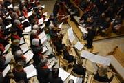 Volle Konzentration beim evangelischen Kirchenchor Sulgen-Kradolf. (Bild: Monika Wick)