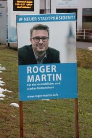Wahlplakat von Roger Martin (50, parteilos)