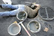 Den Auftrag für die Bohrung einer Abwasserleitung vergab das Amt für Umwelt dem günstigsten Anbieter. (Bild: Reto Martin)