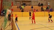 Tor für den FC Gams! Das im gelb-schwarzen Trikot spielende Team überzeugte im ersten Turnier der Junioren E2. Nur das Team Chur 97 war besser, die Bündner bezwangen die Werdenberger sowohl in der Gruppenphase als auch im Final mit 3:1. (Bild: Robert Kucera)