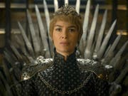 Lena Headey verkörpert im Fantasy-Serienhit «Game of Thrones» die skrupellose Regentin Cersei Lannister. (Bild: KEYSTONE/AP HBO)