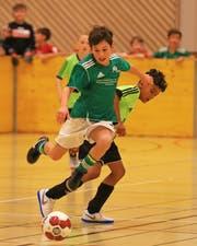 Der FC Buchs, der Gastgeber des Hallenturniers für Junioren, wartet noch auf ein Erfolgserlebnis. (Bild: Robert Kucera)