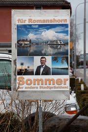 Wahlplakat von Daniel Sommer (53, SVP).