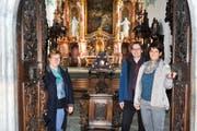 Das Tecum-Team: Cathrin Legler, Thomas Bachofner und Jasmin Hanselmann. (Bild: PD)