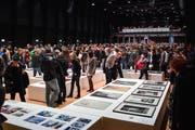 Die Werkschau in Zürich Oerlikon, die vom 10. bis zum 14. Januar dauerte, war gut besucht. (Bild: Christian Regg)