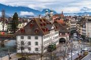 Das Naturmuseum in Luzern. (Foto: Roger Gruetter (21. Februar 2017))