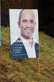 Wahlplakat von Turi Schellenberg (53, SP)