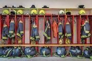Allzeit bereit: Die Feuerwehr rückte im vergangenen Jahr rund 1500 Mal aus. (Bild: Benjamin Manser)