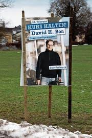 «Kurs halten»: Das ist das Motto von Stadtpräsident David H. Bon. (Bilder: Christoph Zweili)