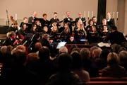 Orchster und Chor boten dem Publikum ein barockes Konzert. (Bild: Barbara Hettich)