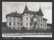 Das alte Frauenfelder Spital an der Zürcherstrasse. (Bild: PD)