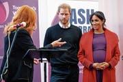Prinz Harry und Herzogin Meghan besuchen im Januar eine Charityveranstaltung - aber im Mittelpunkt steht Meghans Aussehen. (Bild: Getty)