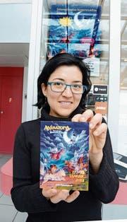 Nydia Büber liebt Zeichentrickfilme über alles. Nun hat sie ein Festival organisiert. (Bild: Hansruedi Rohrer)