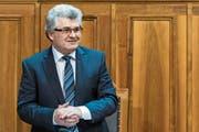 Ivo Bischofberger ist 2007 in die Kleine Kammer gewählt worden. (Bild: Anthony Anex/Keystone)