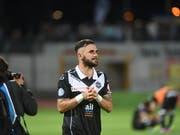 Armando Sadiku kehrt in die Super League und zu Lugano zurück (Bild: KEYSTONE/TI-PRESS/SAMUEL GOLAY)