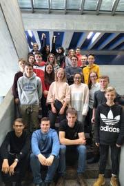 Die Klasse 2LeWe wird das Projekt Schülerzeitung nun als Onlineblog weiterführen. (Bild: Milena Todic)