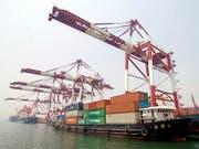 China will Wirtschaft stärker anschieben. (Bild: KEYSTONE/EPA/WU HONG)