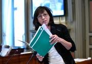 Regierungsrätin Heidi Hanselmann ist Vorsteherin des Gesundheitsdepartementes des Kanton St. Gallen. (Bild: Regina Kühne)
